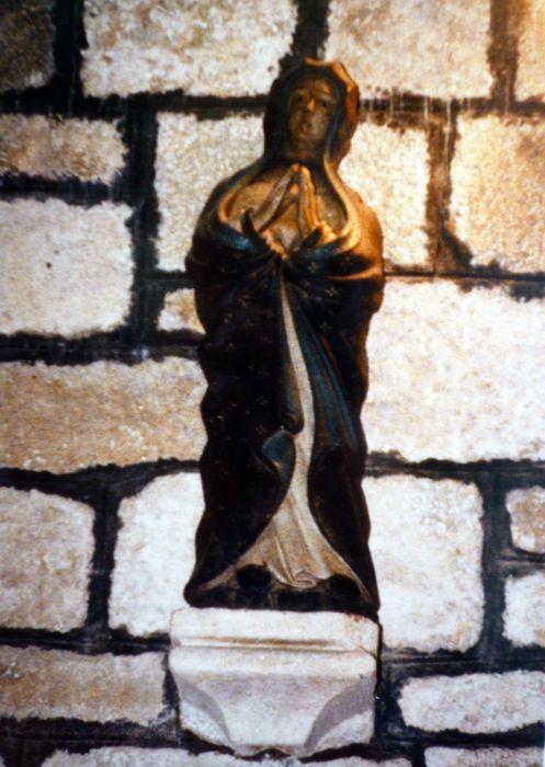 Statue : Vierge au calvaire