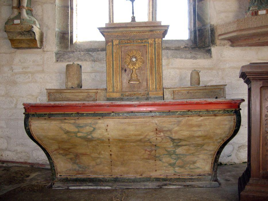 maître-autel ; tabernacle
