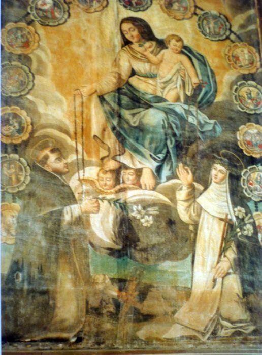 tableau : Le Rosaire, vue générale
