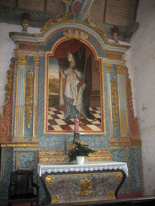 retable ; tableau : Saint Philibert en évêque