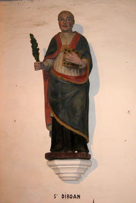 Statue : Saint Diboan