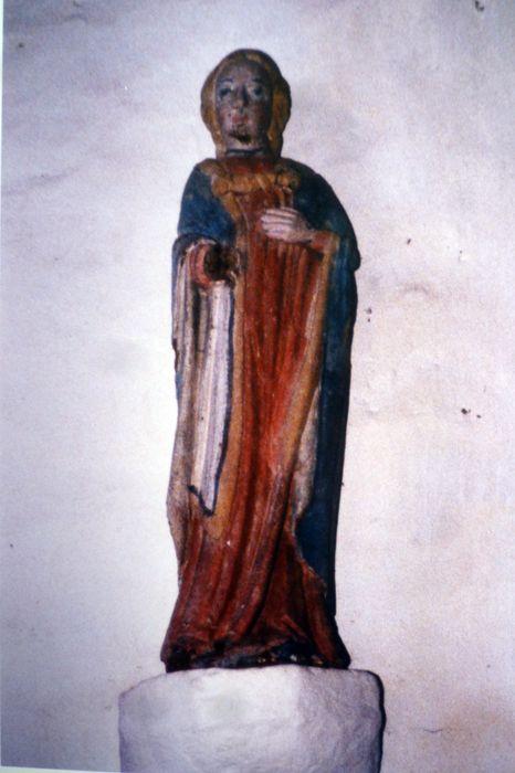 Statue : Sainte Apolline (?)