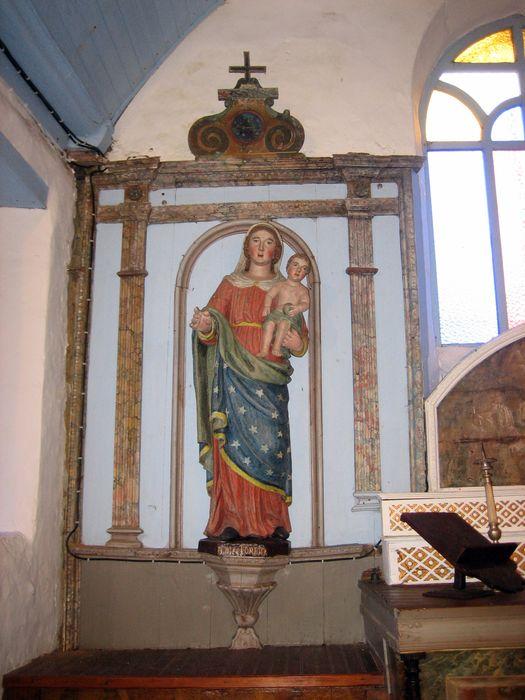 Statue : Vierge à l'Enfant dite Notre Dame de Lorette