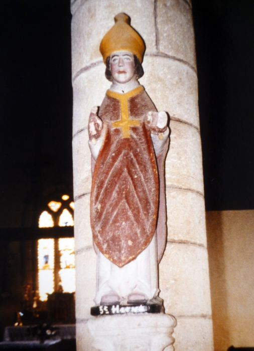 Statue : Saint Hervé