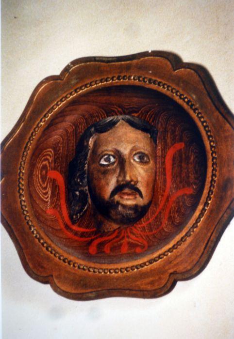 Haut-relief : Chef de saint Jean-Baptiste
