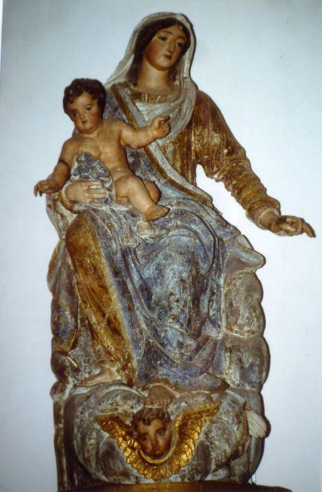 statue : Vierge à l'Enfant dite Notre Dame de Lanvénec