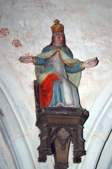 statue : Sainte Femme (Jeanne de Valois ?)