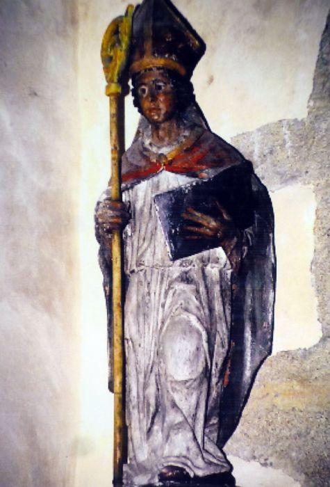 Statue : Saint évêque (Mélaine ?)
