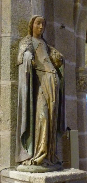 Statue : Sainte Madeleine (?)