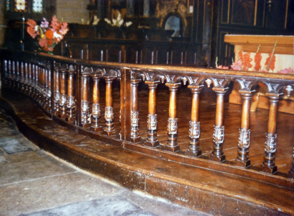 Balustrade de communion