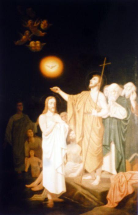 Tableau : Le Baptême du Christ
