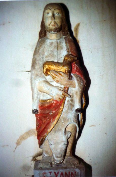 Statue : Saint Jean-Baptiste dit Sant Yann