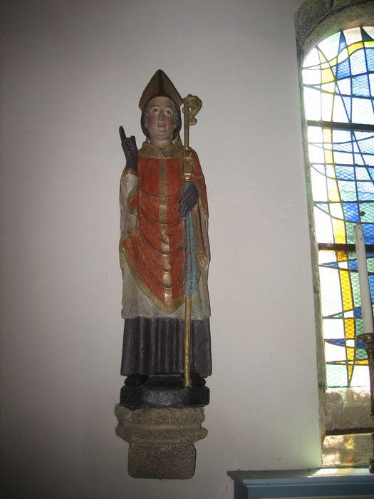 Statue : Saint Eloi en évêque
