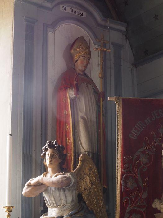 Statue : Saint Nicaise