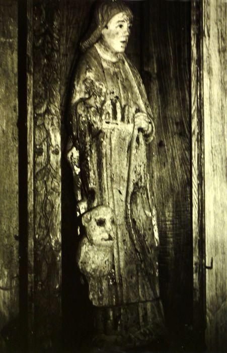 Statue : Saint Marc et son lion