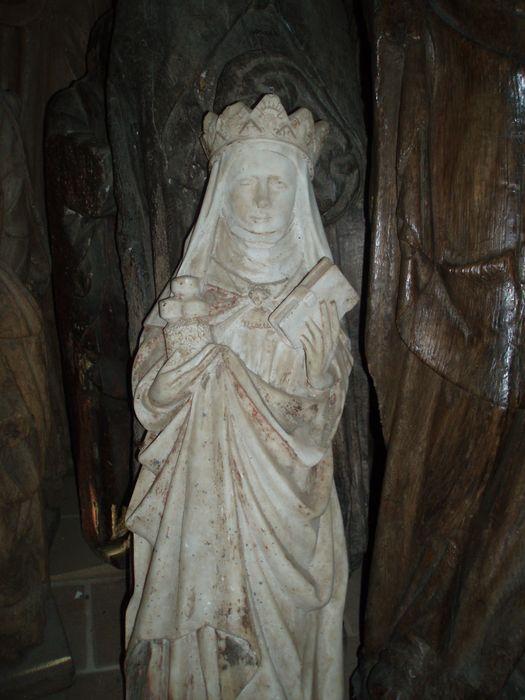 Statue : sainte Elisabeth de Hongrie ou de Thuringe
