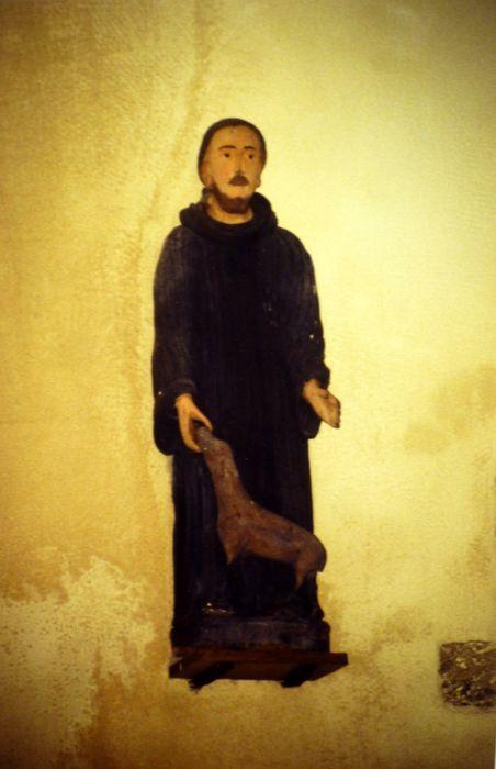 Statue : Saint Hervé et son Loup