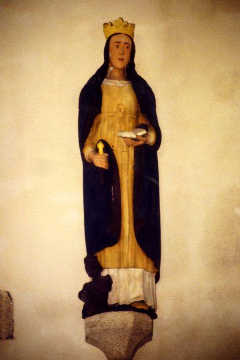 Statue : Sainte Catherine foulant aux pieds l'empereur Maximilien