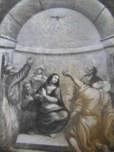 Tableau : la Pentecôte