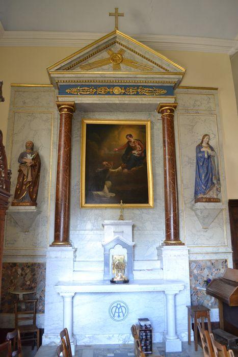 retable de l'autel du Rosaire