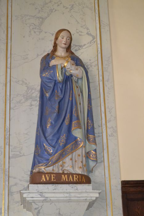 statue : Vierge de l'Annonciation
