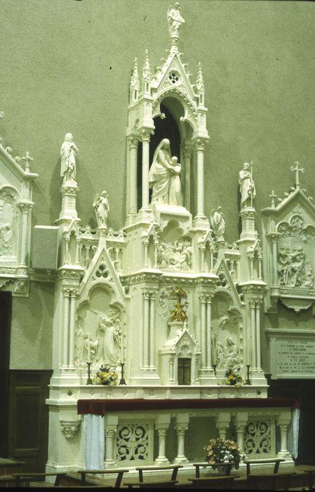retable de l'autel Sainte-Anne