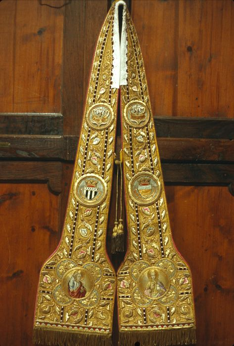 étole de clerc (étole pastorale)