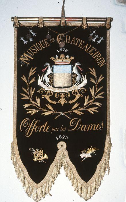Insigne (bannière) de l'harmonie municipale