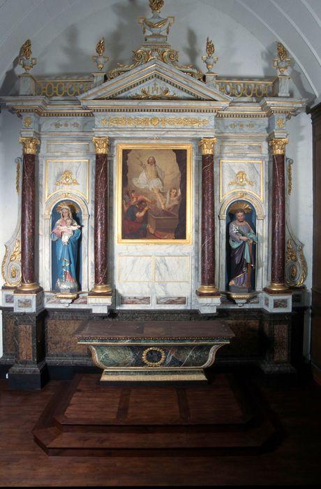 autel (maître-autel) et son retable