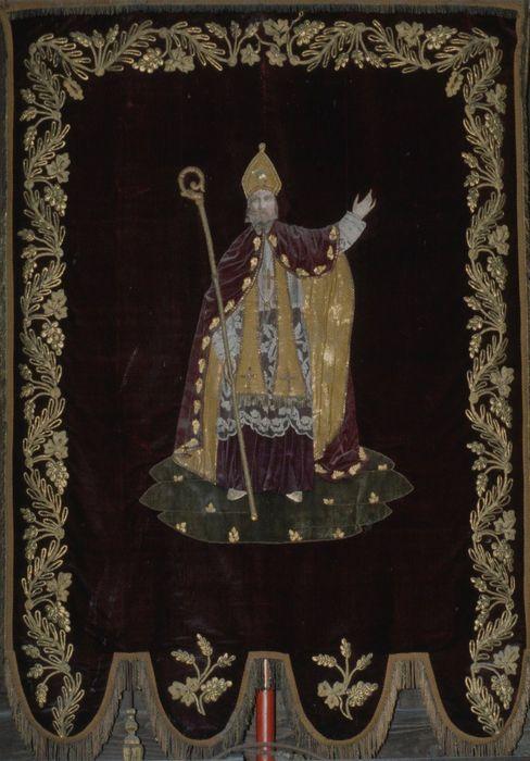 bannière de procession : Saint Melaine