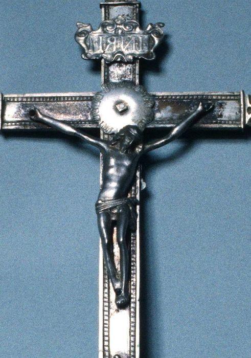 croix de procession n°1, vue partielle