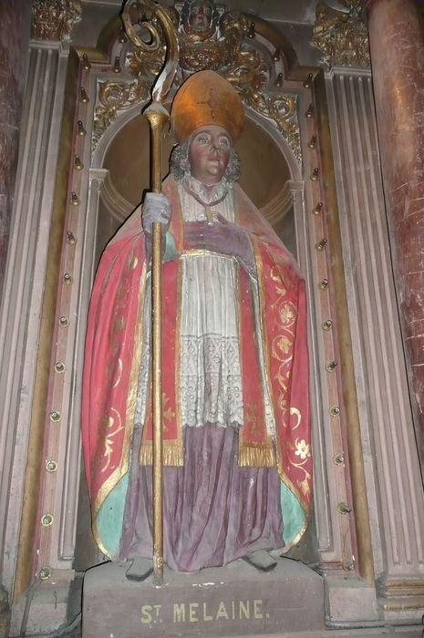 statue : Saint Mélaine