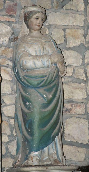 statue : Sainte non identifiée