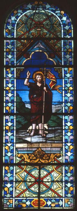 verrière: Saint Jean Baptiste (baie 2)