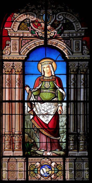 Verrière : Sainte Elisabeth de Hongrie