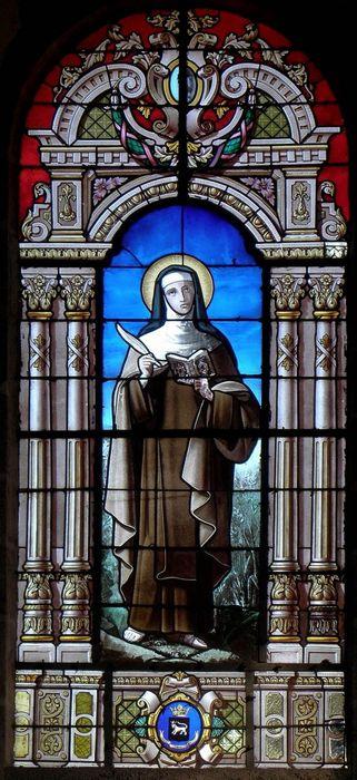 verrière : Sainte Thérèse d'Avila