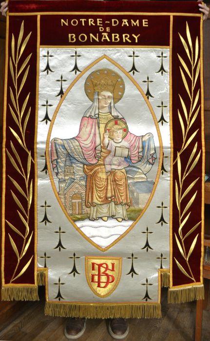 bannière de procession n°2 : Notre-Dame-de-Bonabry