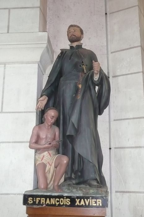 Statue : Saint François-Xavier