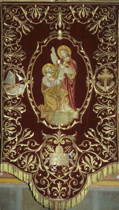 bannière n°3: Remise des clés à saint Pierre