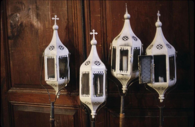 lanternes de procession (lanterneaux)