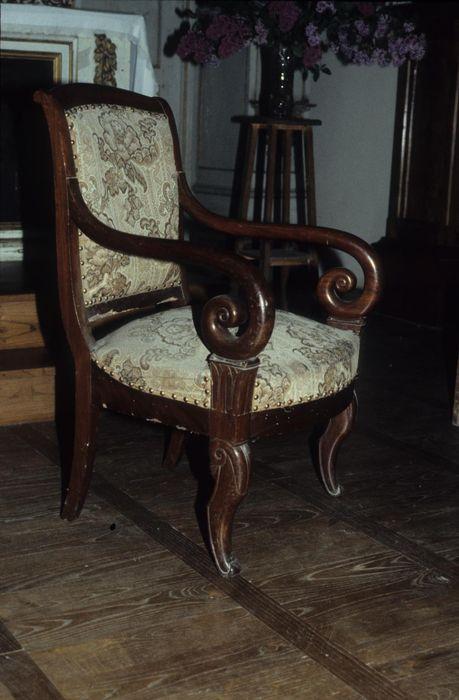 Paire de fauteuils de célébrant