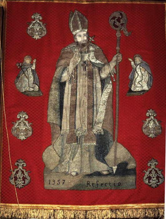 bannière de procession n°1 : Saint Sulpice