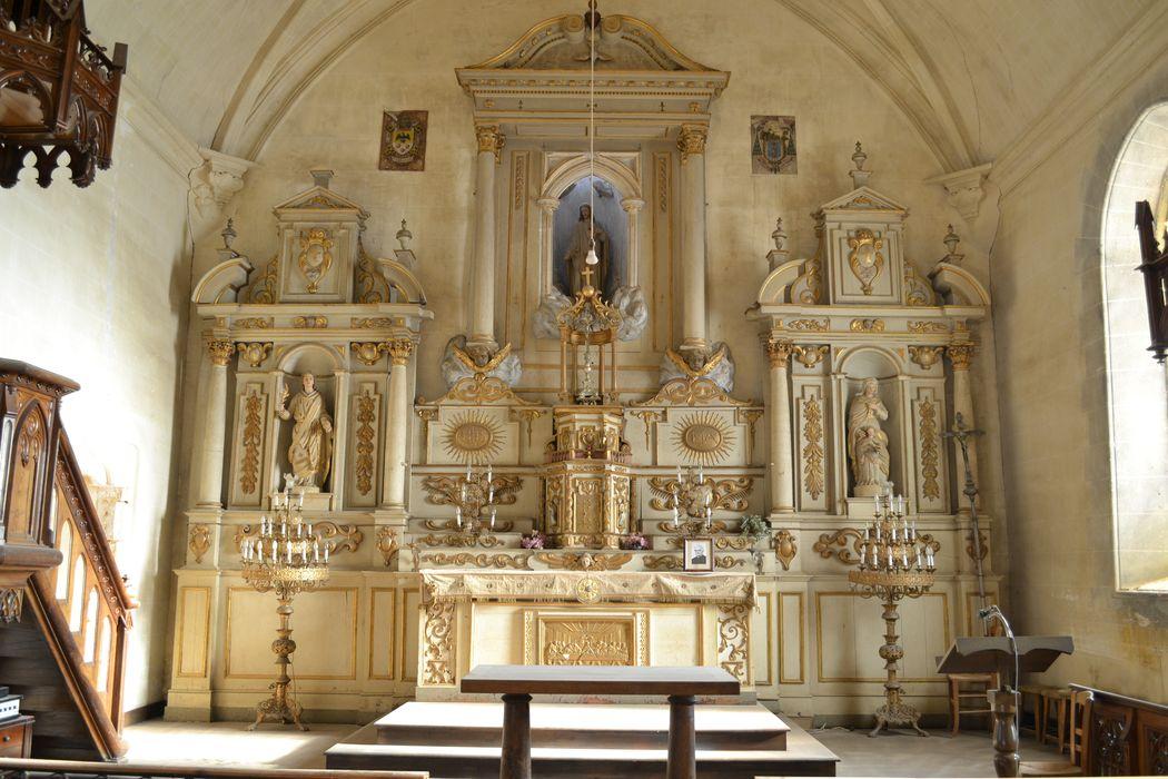tabernacle du retable du maître-autel, détail