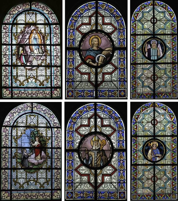 verrières : Notre-Dame de Lourdes, Sacré-Coeur, Ange gardien, Saint Louis, Saint Isidore et Saint Julien