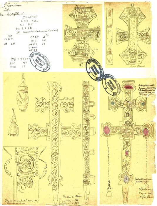 reliquaire, croix-reliquaire