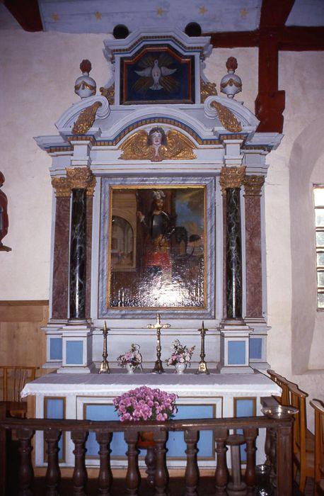 retable de l'autel de saint Léger, tableau : Saint Léger