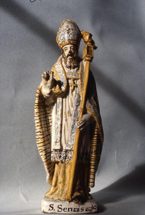 statue (statuette) : Saint Servais