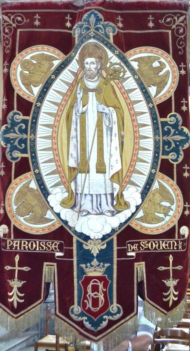 bannière de procession : Saint patron