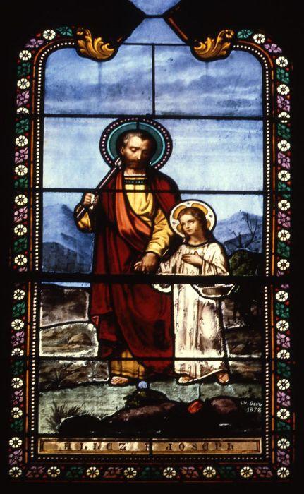 verrière : Saint Joseph (baie 6)