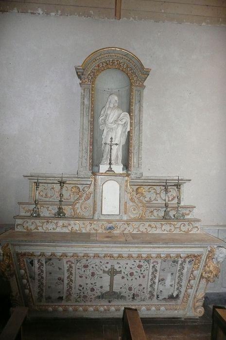 autel de la Sainte-Croix, antependium, gradins d'autel
